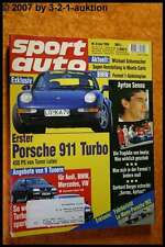 Sport Auto 6/94 Porsche 911 Turbo Lotec 962 Le Mans