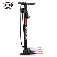 Quality hand air pump 100 PSI 7 BAR precision gauge car bike multi valve HEYNER