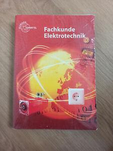 Fachkunde Elektrotechnik Europa Lehrmittel Nr. 30138