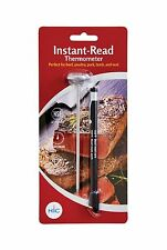 Instant Read Meat Poultry Turkey Grill Thermometer with Sheath