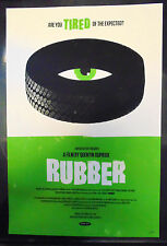 """Rubber Green Variant Olly Moss Mondo EXTREMELY RARE 2010 #d/75 16x24"""" Poster"""