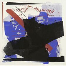 WOLFGANG PETROVSKY - Hitler-Stalin-Pakt - Farbsiebdruck 1989