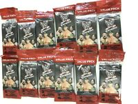 2014 TOPPS WWE CHROME VALUE PACKS ( 12 PACK LOT )