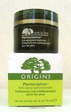Origins Plantscription Eye Treatment 15ml - NEW - BOXED HAPPY TO POST WORLDWIDE