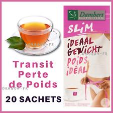 Tisane Laxative Damhert Tea Time Poids Idéal Thé Transit Minceur Détox Régime