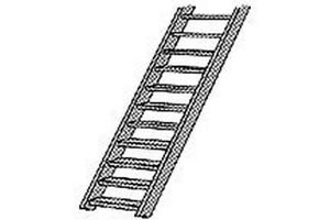 Plastruct 1.100 Scale Stairs 2pcs # STAS-4