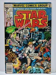 Star Wars #2   1st app Obi-Wan, Han Solo, Chewbacca & Greedo  1st Print   Marvel