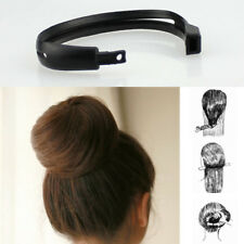 Black Hair Styling Donut Bun Clip Tool French Twist Maker Holder Hair Sticks