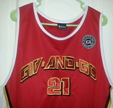 DOMINIQUE WILKINS - GIV AND GO / THROWBACK JERSEY #21 ( SIZE 2XL ) VERY  RARE !!