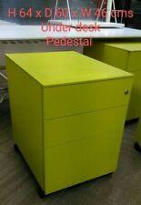 Office Pedestal filing storage cabinet mobile furniture under desk business