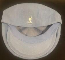 KANGOL TROPIC GALAXY BLUE IVY  NEWSBOY CABBIE CABBY PAPER BOY CAP Size M