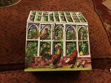 New!! Emma Bridgewater Greenhouse  shaped Tin