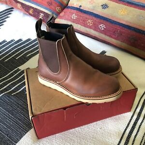 Red Wing classic Chelsea Amber 3190 Sz 7.5
