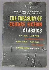 TREASURY OF SCIENCE FICTION CLASSICS 1954 HANOVER 1ST ED DJ HAROLD W KUEBLER