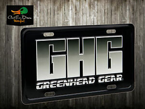 AVERY GHG LICENSE PLATE LOGO METAL GREENHEAD GEAR GHG GOOSE DUCK DECOYS SIGN