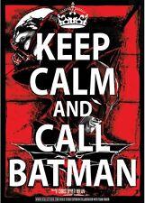 Batman - The Dark Knight Rises - KEEP CALM AND CALL BATMAN - SERIGRAFIA POSTER