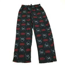 Star Wars Pajama Pants Kids Size Extra Large Youth Black Kylo Ren Straight Pjs
