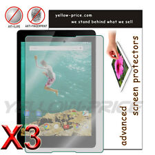 For HTC Google Nexus 9 8.9'' Tablet 3pcs Anti-Glare Matte Screen Protector Cover