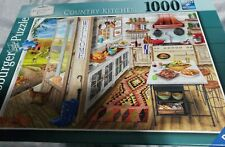 New Sealed Ravensburger Apartment Envy Series Country Kitchen 1000 Piece Puzzle