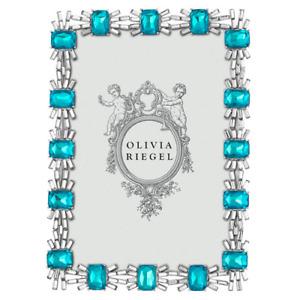 "Olivia Riegel 5x7"" 'Blue Tourmaline Aurora' Frame, NIB"