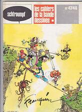 FRANQUIN Schtroumpf revue BD no 47-48 TBE