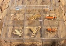 Lot Of Vintage Grube Luros Baits Fly Rod Flies