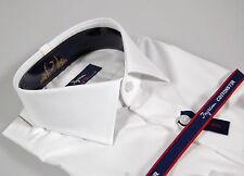 Camicia Ingram Slim Fit collo mezzo francese 100% Cotone No Stiro Taglia 41 L