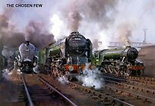 """Hornby Dublo in Railway Art """"The Chosen Few"""" No. 27 Signed & Numbered."""
