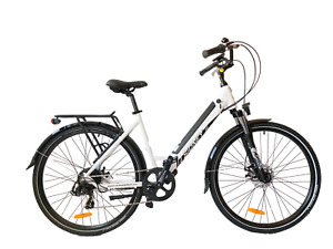 SIDNEY URBANBIKER City E-Bike Elektrofahrrad 250W Motor, 504Wh Akku E-City Bike