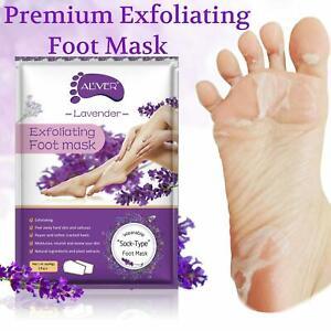 Exfoliating Peel Foot Care Sock Mask Baby Soft Skin Feet Removes Callus Lavender