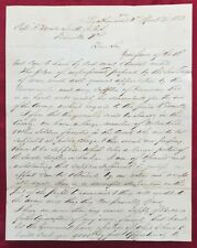 1863 CONFEDERATE LETTER REQUEST FOR SUPPLIES - from B.F. GRAVELY LEATHERWOOD, VA