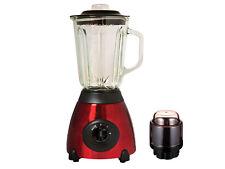 Rojo 500w Eléctrico Multi alimentos Licuadora Con Molinillo Smoothie Procesador De Regalo