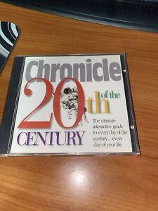 Chronicle of the 20th Century PC Program