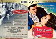 A Song to Remember ~ New DVD ~ Cornel Wilde, Merle Oberon (1944)