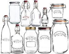 Kilner Bottles and Jars Vintage Swing Screw Twist Push Top Storage Containers