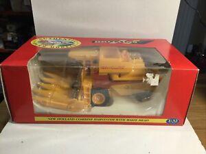 Vintage Britains Farm 9571 Combine Harvester Ex Shop Stock Mint in Box