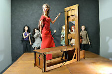 Guillotine Historical for Dolls 12 in 1/6  furniture Barbie FR diorama