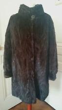 Manteau de fourrure Vison femelle taille 40.