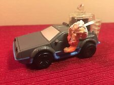 Back to the Future Doc's Delorean toy car Saturday Morning Cartoon McDonald's