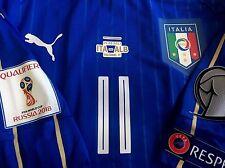 ITALIA maglia IMMOBILE match worn shirt spielertrikot maillot porté LAZIO FIGC