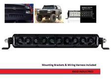 Rigid Industries SR-Series PRO Midnight Edition 10 Inch Spot Optics Light Bar