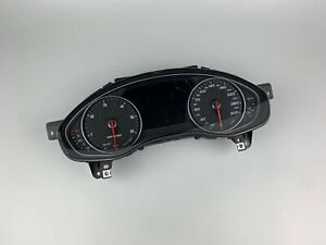 Audi A6 4g Allroad Quattro KMH Speedometer Instrument Cluster Speedo 4G9920950M