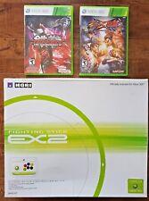 XBOX 360 x Hori EX2 (XB3STICK) Fighting Arcade Stick + BONUS FIGHT GAMES