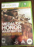 Medal of Honor: Warfighter Limited Edition (Microsoft Xbox 360, 2012) Pre Owned