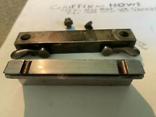griffin howe scope mount 3/4 rings and base plate: 1927-31 Pre- Patent .