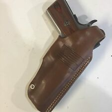 "1911 5"" Colt,Springfield,Remington,RIA,Ruger,Brown Right Hand Leather  Holster."