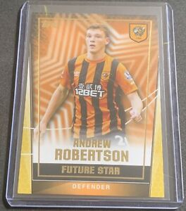 Andrew Robertson Rookie Card RC - Topps Premier League Future Star - Hull City