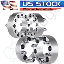 "4X 2"" 50mm Thick 6x5.5 Wheel Spacers 12x1.5 Studs for Toyota Tacoma 1995-2012"
