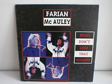 "MAXI 12"" FARIAN / MC AULEY Rikki don t lose that number 74321 19377 1"