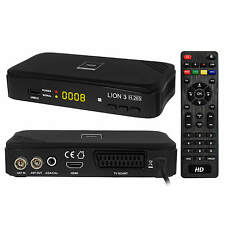 DVB-T/T2 RED Opticum LION 3 HD 265 HEVC H.265 Mediaplayer Receiver HDMI USB